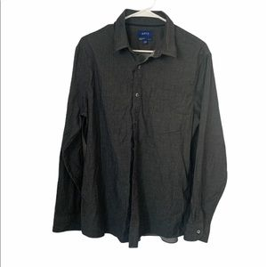 Apt 9 men's button down collared shirt